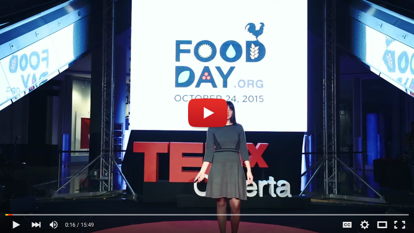 "WATCH: Lilia Smelkova on TedX, ""Changing the Global Food System"""