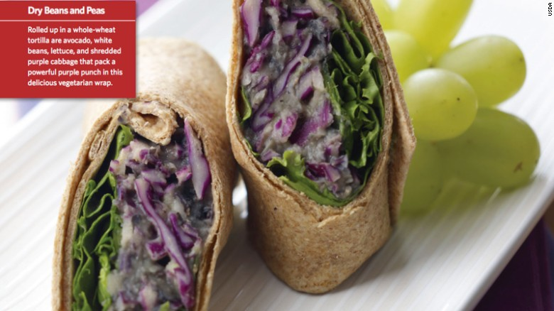Power Purple Bean Wrap image